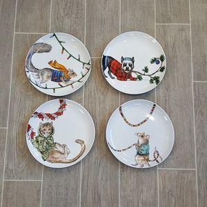 Rachel Kozlowski + West Elm Dapper Animal Plates
